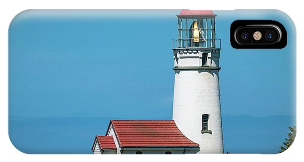 Cape Blanco Lighthouse At Cape Blanco, Oregon IPhone Case