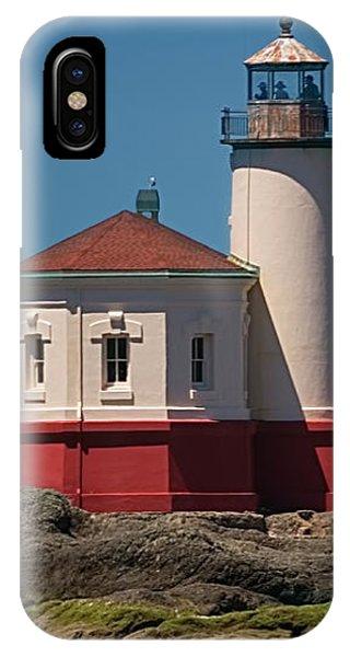 Cape Blanco Lighthouse IPhone Case