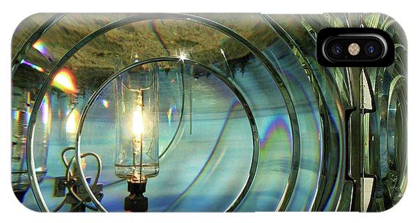 Cape Blanco Lighthouse Lens IPhone Case