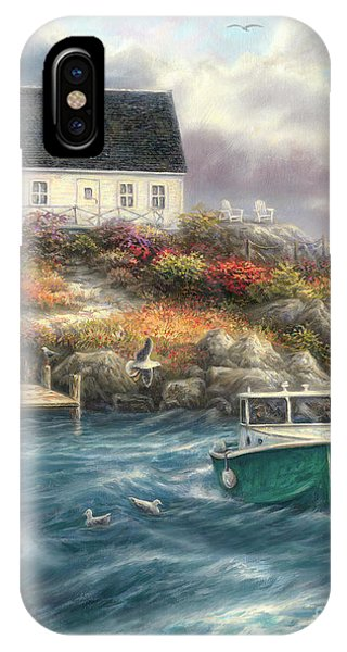 England iPhone Case - Cape Cod Afternoon by Chuck Pinson