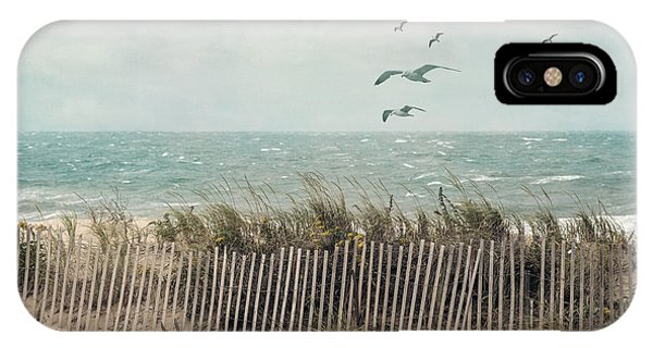 Cape Cod Beach Scene IPhone Case