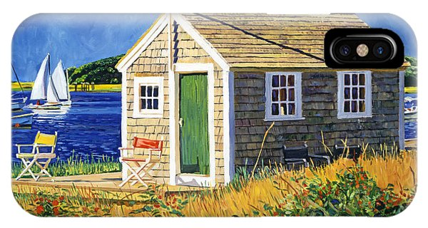 Cape Cod Boat House IPhone Case