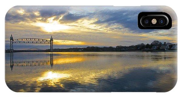 Cape Cod Canal Sunrise IPhone Case