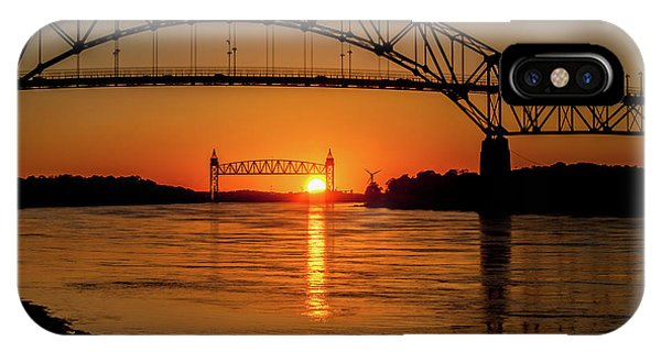 Cape Cod Canal Sunset IPhone Case