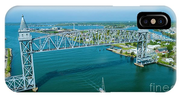 Cape Cod Canal Suspension Bridge IPhone Case