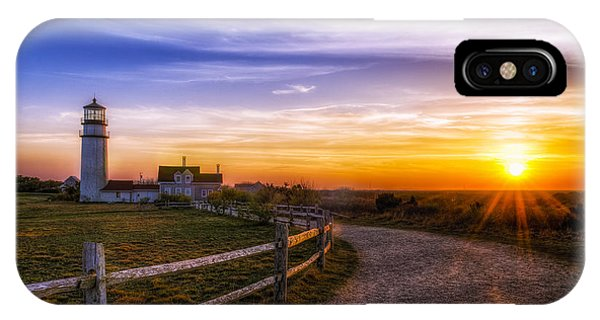 Cape Cod Light IPhone Case