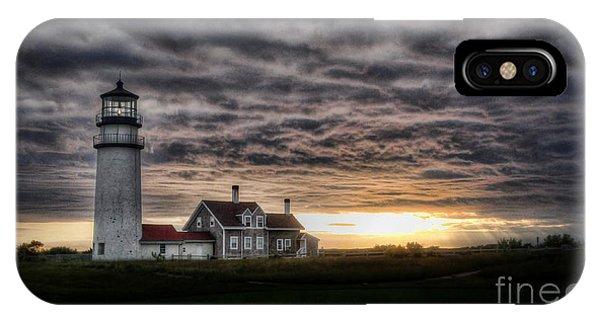 Cape Cod Lighthouse IPhone Case