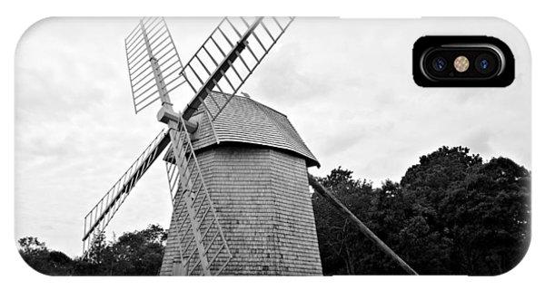 Cape Cod - Old Higgins Farm Windmill IPhone Case