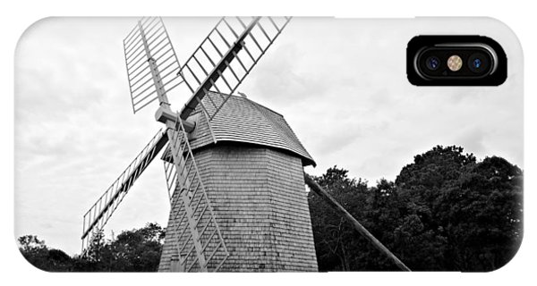 IPhone Case featuring the photograph Cape Cod - Old Higgins Farm Windmill by Richard Reeve