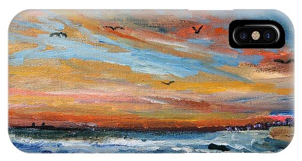 Cape Cod Sunrise IPhone Case