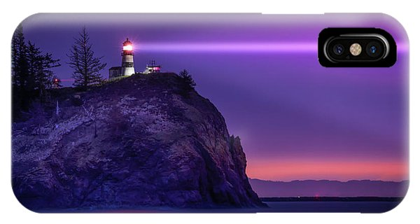Cape Disappointment Light IPhone Case