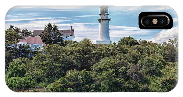 Cape Elizabeth Lighthouse IPhone Case