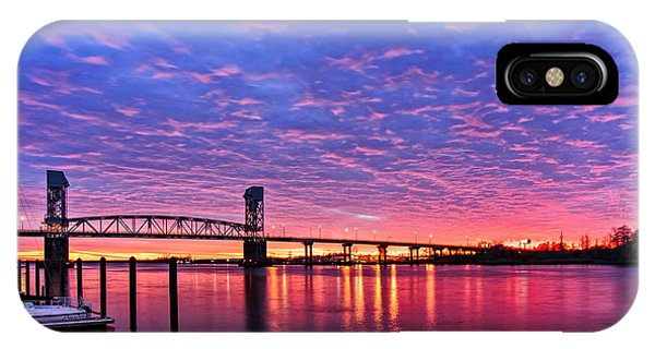 Cape Fear Bridge1 IPhone Case