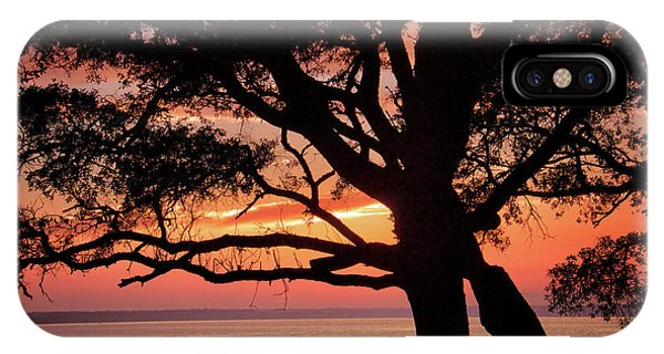 Cape Fear Sunset Overlook IPhone Case