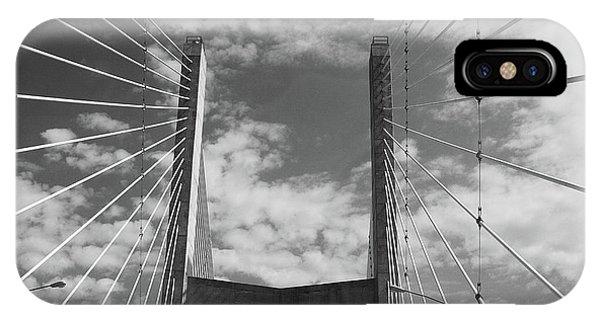 Cape Girardeau Bridge IPhone Case