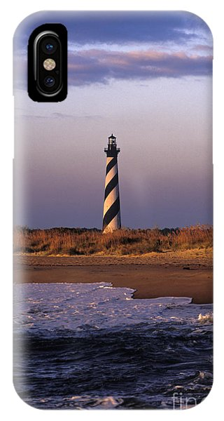 Cape Hatteras Lighthouse At Sunrise - Fs000606 IPhone Case