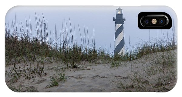 Cape Hatteras Over The Dunes IPhone Case