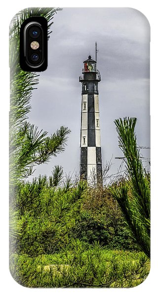 Cape Henry Light From The Dune IPhone Case