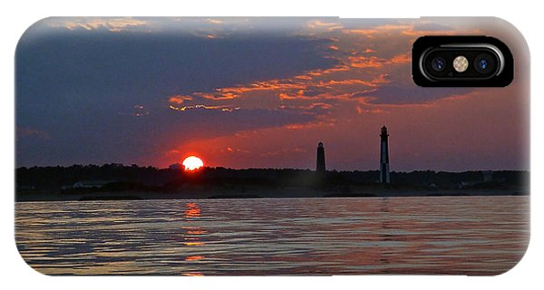 Cape Henry Sunset IPhone Case