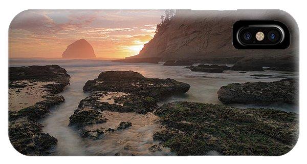 Cape Kiwanda At Sunset IPhone Case