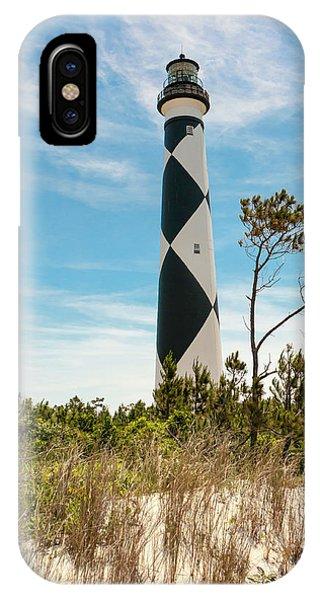 Cape Lookout Light No 2 IPhone Case