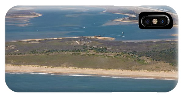 Cape Lookout Lighthouse Distance IPhone Case