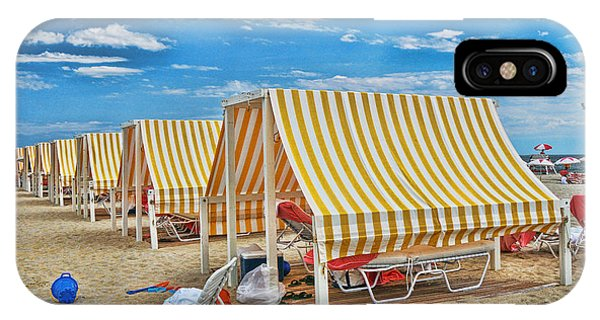 Cape May Cabanas 2 IPhone Case