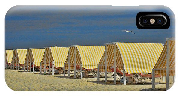 Cape May Cabanas 6 IPhone Case