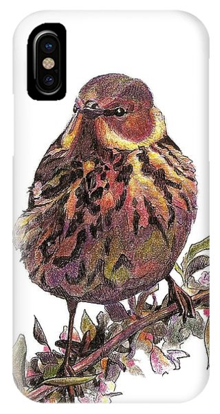 Cape May Warbler IPhone Case