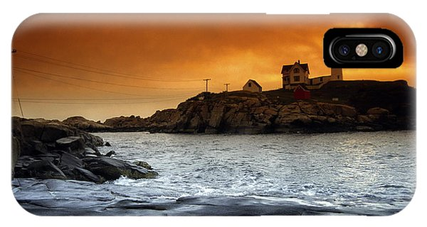 Cape Neddick Lighthouse, Maine, Usa IPhone Case