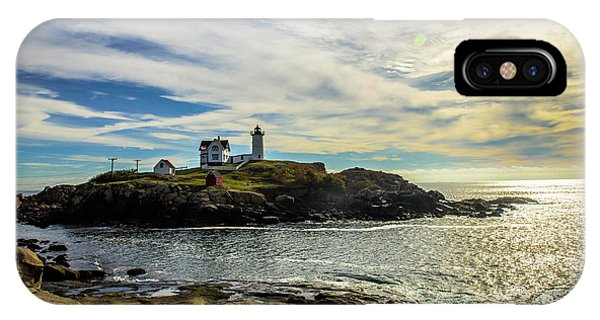 Cape Neddick Lighthouse IPhone Case