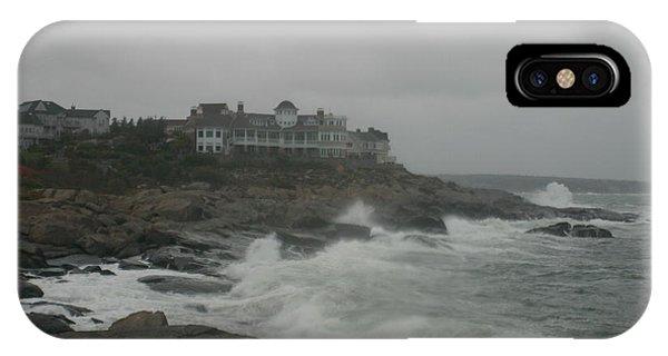 Cape Neddick Lighthouse iPhone Case - Cape Neddick Maine by Imagery-at- Work