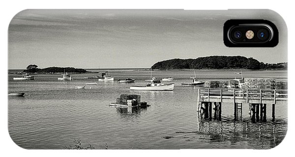 Cape Porpoise Harbor IPhone Case