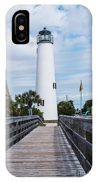 Cape St. George Lighthouse IPhone Case
