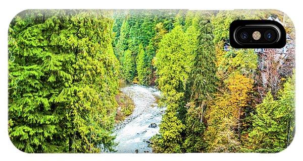 Capilano River, Vancouver IPhone Case
