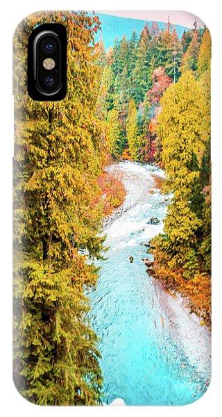 Capilano River, Vancouver Bc, Canada IPhone Case