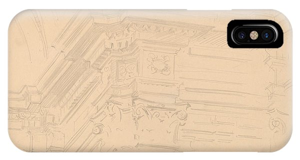iPhone Case - Capilla Real Entablature, Granada by John Singer Sargent