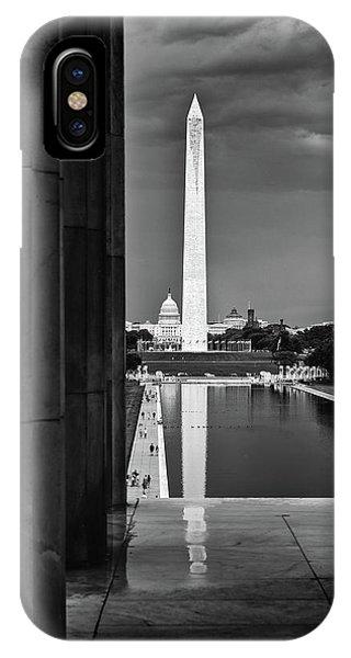 Capita And Washington Monument IPhone Case