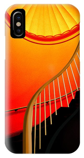 Capital Stairs IPhone Case