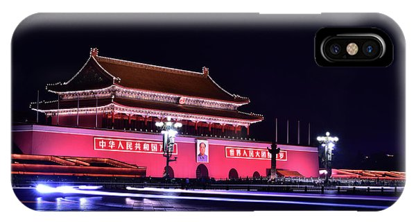 Forbidden City iPhone Case - Capital's Light by Midori Chan