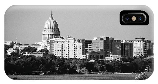 Capitol 5 - Madison - Wisconsin IPhone Case