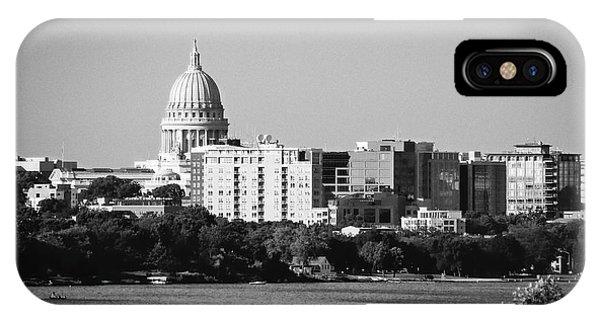 Capitol 5 - Madison - Wisconsin IPhone Case