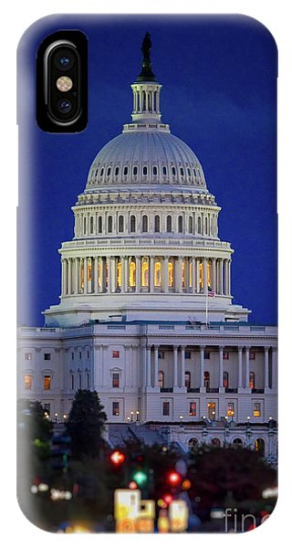 Capitol At Dusk IPhone Case
