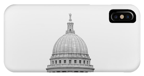 Capitol Building iPhone Case - Capitol Cloud by Todd Klassy