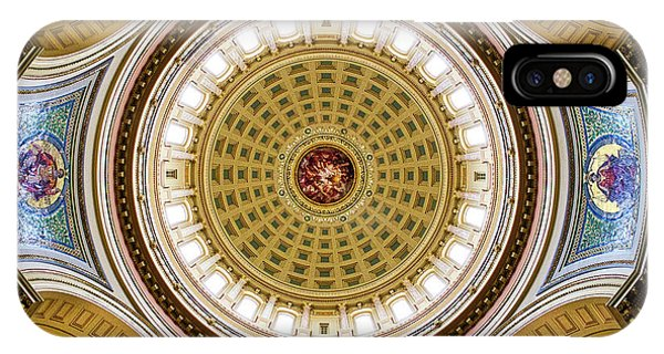 Capitol - Dome 2- Madison - Wiscosnin IPhone Case