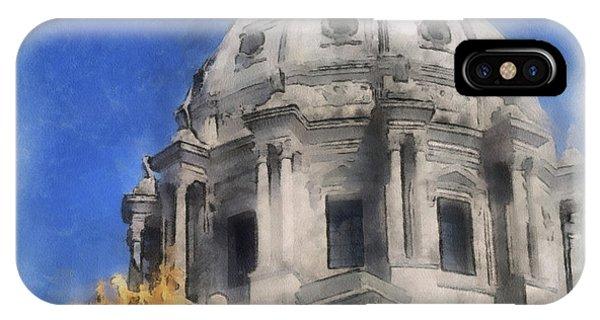 Capitol Dome St Paul Minnesota IPhone Case