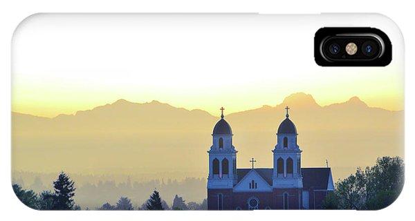 Capitol Hill Sun Up IPhone Case