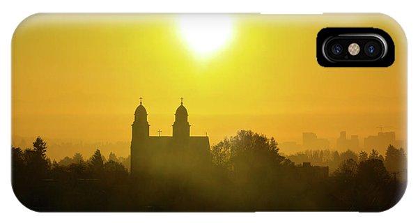 Capitol Hill Sunrise   IPhone Case