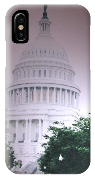 iPhone Case - Capitol In Pink by Pharris Art
