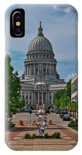 Capitol - Madison With Bucky IPhone Case